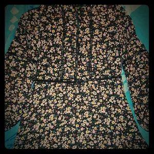 Floral divided dress